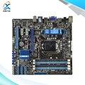 Para asus p7h55-m/usb3 original usado madre de escritorio de intel h55 socket LGA 1156 Para i3 i5 i7 DDR3 16G SATA3 USB3.0 uATX