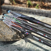 Exclusive Quality Carbon Fiber Rock Fishing Rod Ultralight Telescopic Fishing Pole 2.7/3.6/4.5/5.4M Fishing Tackle FA-306