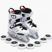 Multi function ice skates roller skates men and women adult shoes figure skating knives for beginners skating dual use