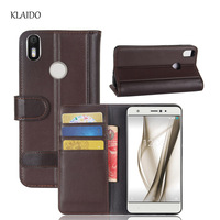 KLAIDO Genuine Cow Leather Case For BQ Aquaris X Pro Case 5 2 Inch Luxury Phone