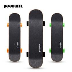 Koowheel Wireless Control Electric Skateboard 4400mAh Battery 250W Waterproof Moter Electric Longboard Hoverbaord D3S
