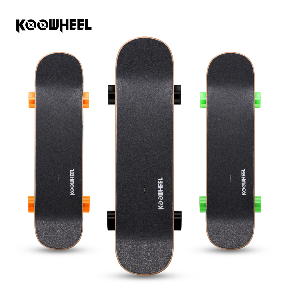 Koowheel Wireless Control Electric Skateboard 4400mAh Battery 250W Waterproof Moter Electric Longboard Hoverbaord D3S 4 wheel electric skateboard single driver motor small fish plate wireless remote control longboard waveboard 15km h 120kg