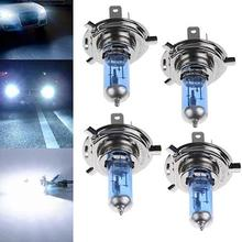 NEW 2Pcs H1/H4/H7 55W/100W Xenon Gas Halogen Headlight White Lamps DC 12V 5000K Bulbs