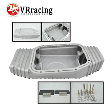 VR RACING-FOR S13 S14 S15 SR20DET SR20 180SX 200SX 240SX SILVIA SIL 80 TURBO ALUMINUM OIL PAN  (Fits: FOR  Nissan) VR-OP49