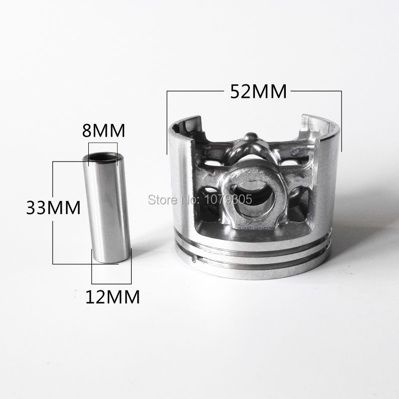 Kit piston piston 52 mm pour tronçonneuse Stihl - Outils de jardinage - Photo 6