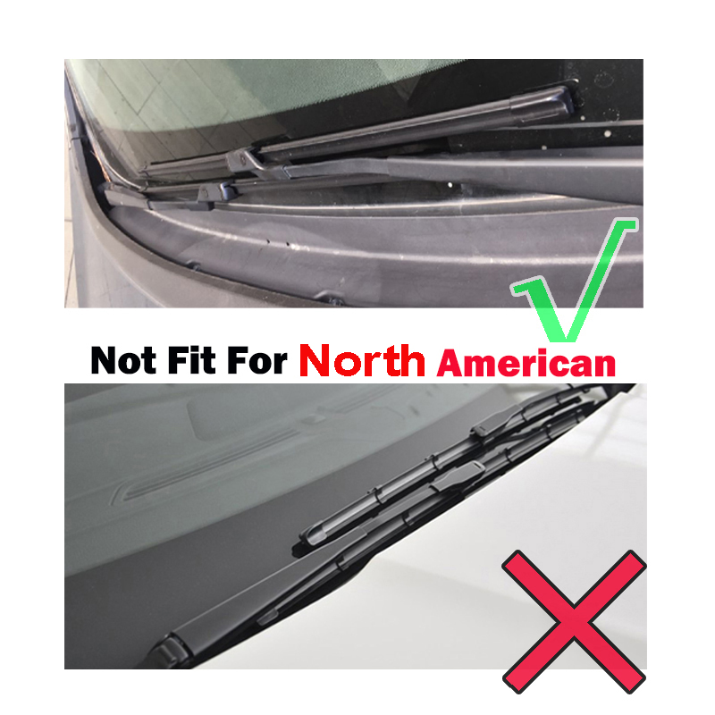 """Image 2 - Ericks Wiper Front Wiper Blades For Ford Focus 3 Hatchback 2011   2017 2016 Windshield Windscreen Front Window 28""""+28""""-in Windscreen Wipers from Automobiles & Motorcycles"""