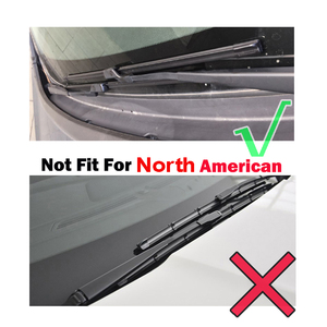 "Image 2 - Ericks Wiper RHD & LHD Front Wiper Blades For Ford Focus 3 Hatchback 2011   2017 Windshield Windscreen Front Window 28""+28"""