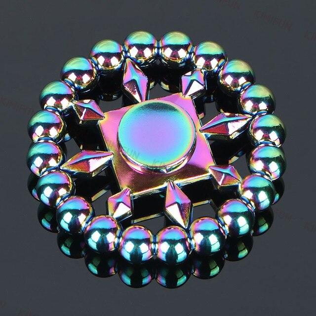 20 бисера круглые металлические руки spinner для малыша подарок Непоседа блесна-Рука детская спиннинг времени 3-5 минут Spinner Игрушки