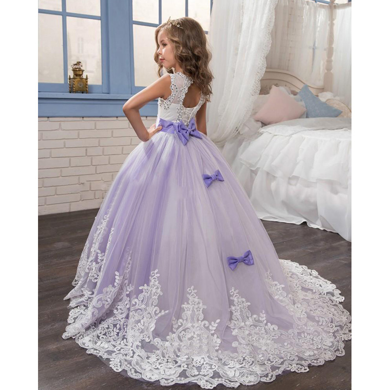 2017 new desigin party formal flower girl dress princess pageant gowns birthday communion. Black Bedroom Furniture Sets. Home Design Ideas