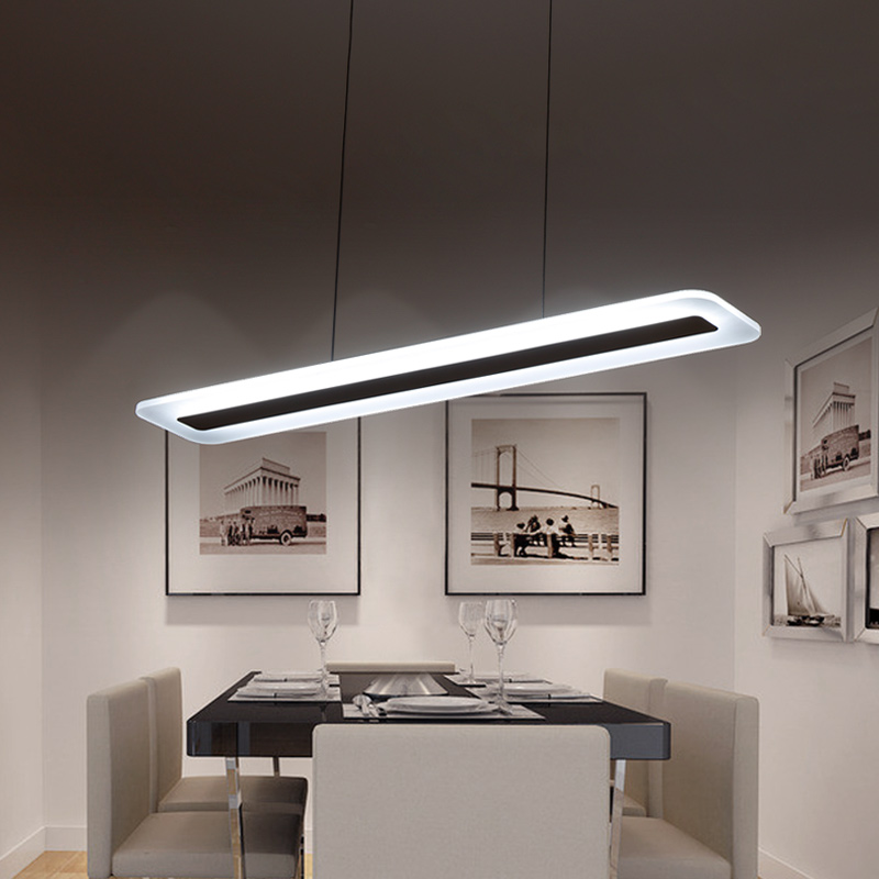 L400 1200mm Various sizes Modern LED Chandelier light for dinning Kitchen room hanging suspension luminaire chandelier