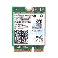 Dual Band 2400Mbps Wireless For Intel Wi Fi 6 AX201 Bluetooth 5.0 NGFF Key E CNVi Wifi Card AX201NGW 2.4Ghz/5Ghz 802.11ac/ax