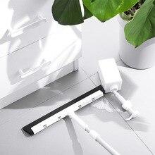 Plastique aluminium Tube lavage brosse nettoyage balai ménage verre essuie glace salle de bain plancher raclage salle de bains plancher nettoyage balai