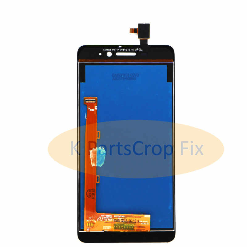 De alta calidad nuevo digitalizador de pantalla táctil + pantalla LCD de sustitución para Lenovo S60 S60W teléfono móvil con marco