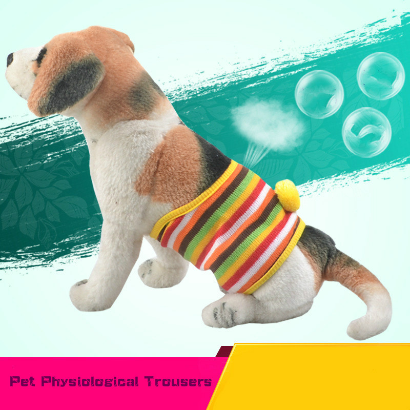 Dog Physiological Trousers Estrus Pet Courtesy Belt Shorts Pets Safety Shorts for Small and Medium Dogs Short De Chien