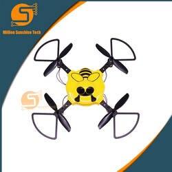 Крытый БПЛА программируемые образования четыре оси Четыре самолета ротора ребенок дистанционного управления DIY аварии устойчивостью 4 оси