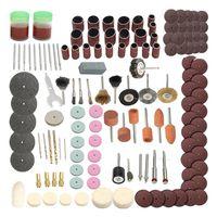 142 шт. электрический шлифовальный мини-роторный сверлильный инструмент набор аксессуаров