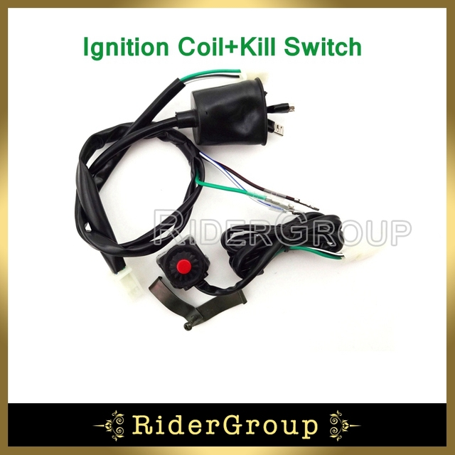 pit dirt bike motocross wiring loom harness kill stop switch for rh aliexpress com