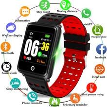 057d32200 BANGWEI جديد Smartwatch مراقب معدل ضربات القلب ساعة ذكية الرجال النشاط جهاز  تعقب للياقة البدنية الرياضة ووتش للرجال ساعة ل IOS ا.