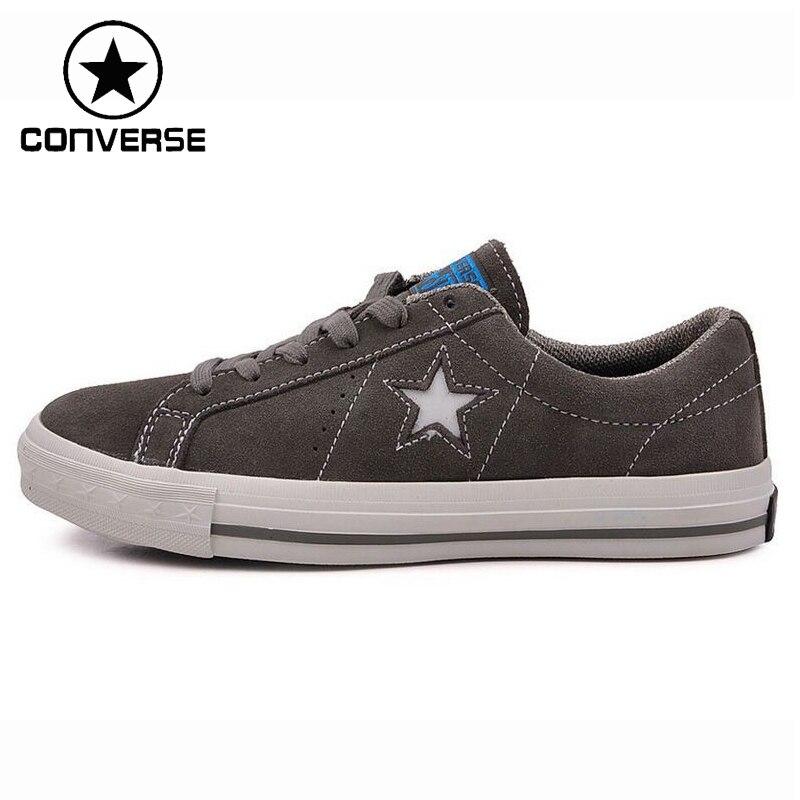 Prix pour D'origine Converse Une Étoile Unisexe Planche À Roulettes Chaussures Sneakers