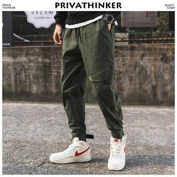 eec621798d7ab0 Privathinker дизайнерские брюки карго мужские 2018 мужские s японские  уличные джоггеры брюки мужские хип-хоп брюки для мужчин t спортивные брюки  3XL