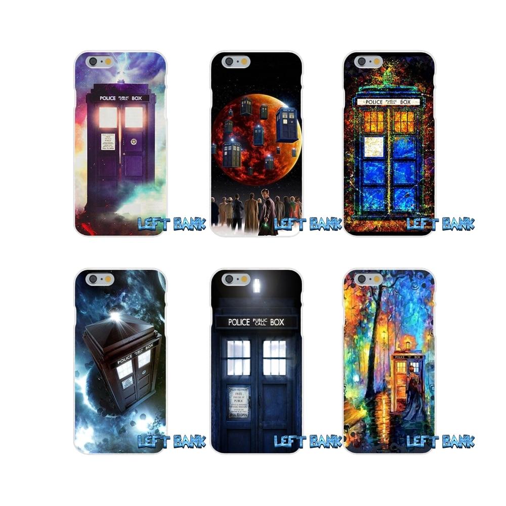 Half-wrapped Case Phone Covers Tardis Doctor Dr Who Police Box For Sony Xperia M2 M4 M5 E3 Xa Aqua Z Z1 Z2 Z3 Z5 Compact Lg K4 7 8 10 V20 V30 2017