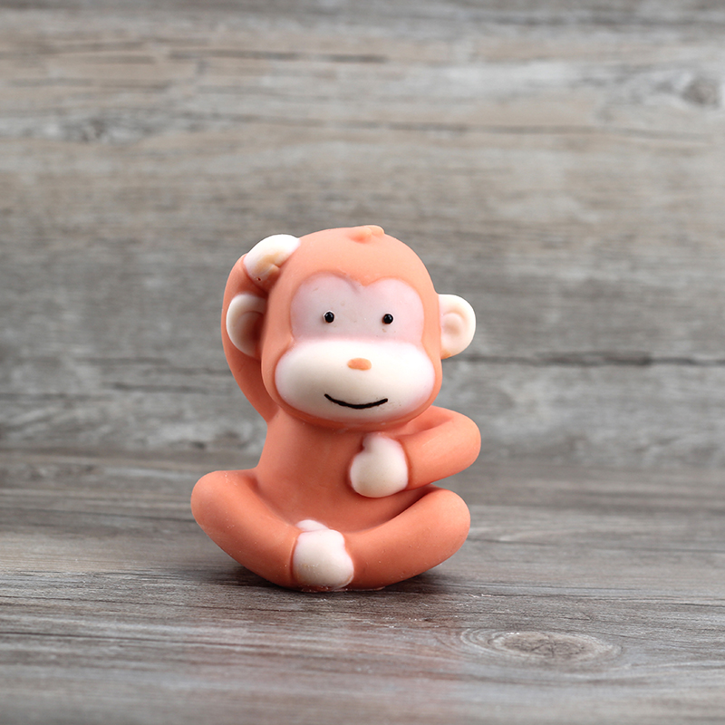 Nicole Soap Silicone Mold 3d Monkey Shape Chocolate Candy