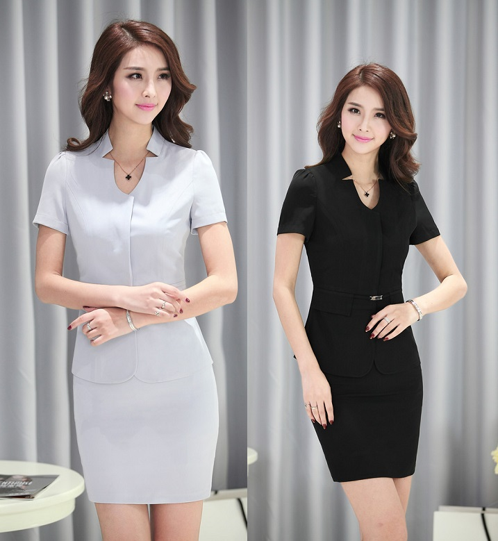 new 2015 summer formal uniform design female office suits