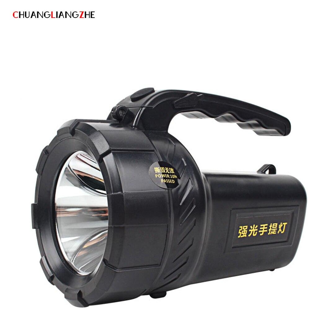 CHUANGLIANGZHE LED Multifunction Portable Outdoor Emergency Lantern Charging Camping Lighting Fishing Lights