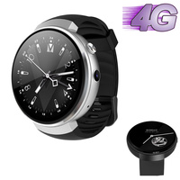 luxury round smartwatch Android 7.0 4G smart watch VS i8 i4 i6 smart phone relogio invicta 1.39inch amoled with heart rate