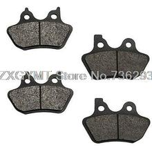 Brake Pads 2000 2001 2002 2003 for Harley Xl Sportster 883 Hugger Front + Rear Brake Pads MT-2081