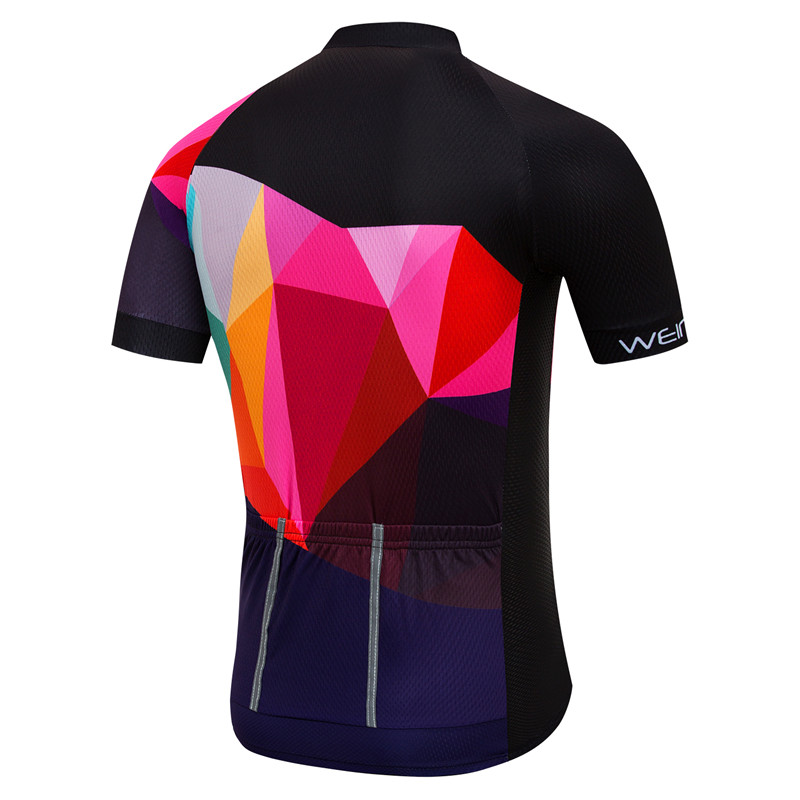 Bicycle Equipment Cycling Jersey Top Men Summer Short Sleeve Descent Bike Jersey Quick Dry Cycling Clothing Ropa Ciclismo