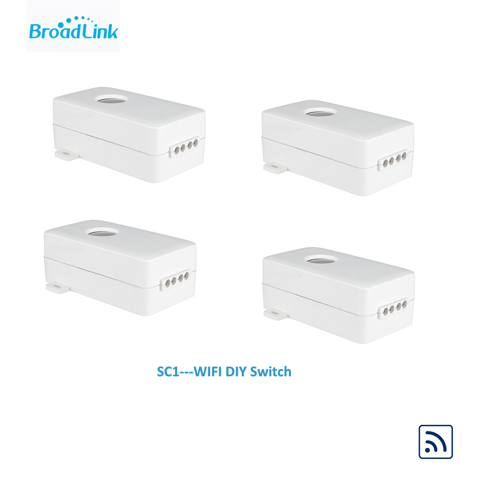4PCS Broadlink SC1 Smart Switch WiFi 2.4GHz תיבת בקרה - אלקטרוניקה חכמה
