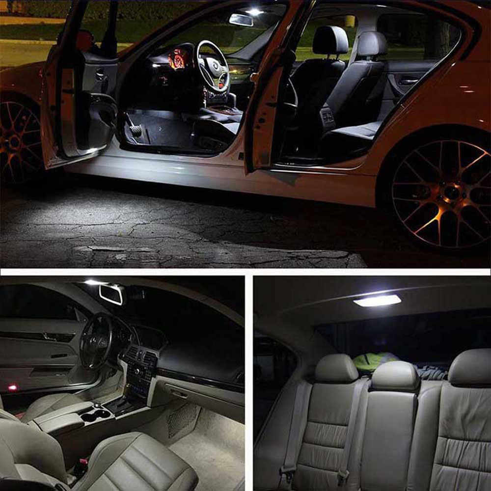2019 NEW Car 4PCS T10 COB 6W W5W 194 168 LED Canbus Error Free Side Wedge Light Bulb Auto License Plate White Lamp 12V For bmw N