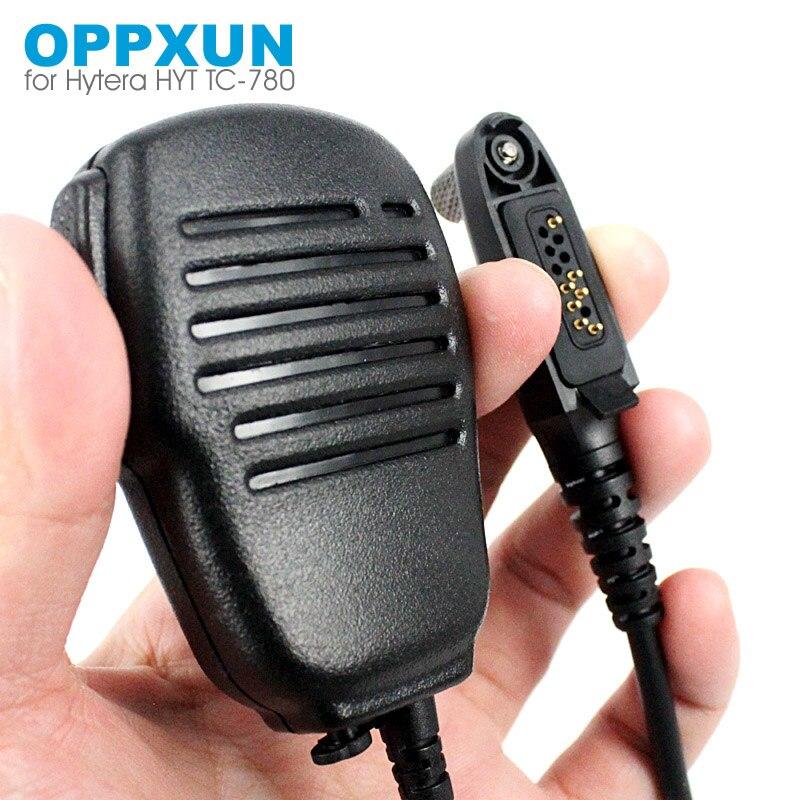 Handheld Speaker Mic Microphone For Hytera HYT TC-780M TC3600 TC-780 TC-610S TC-710 TC880GM Walkie Talkie Two Way Radio