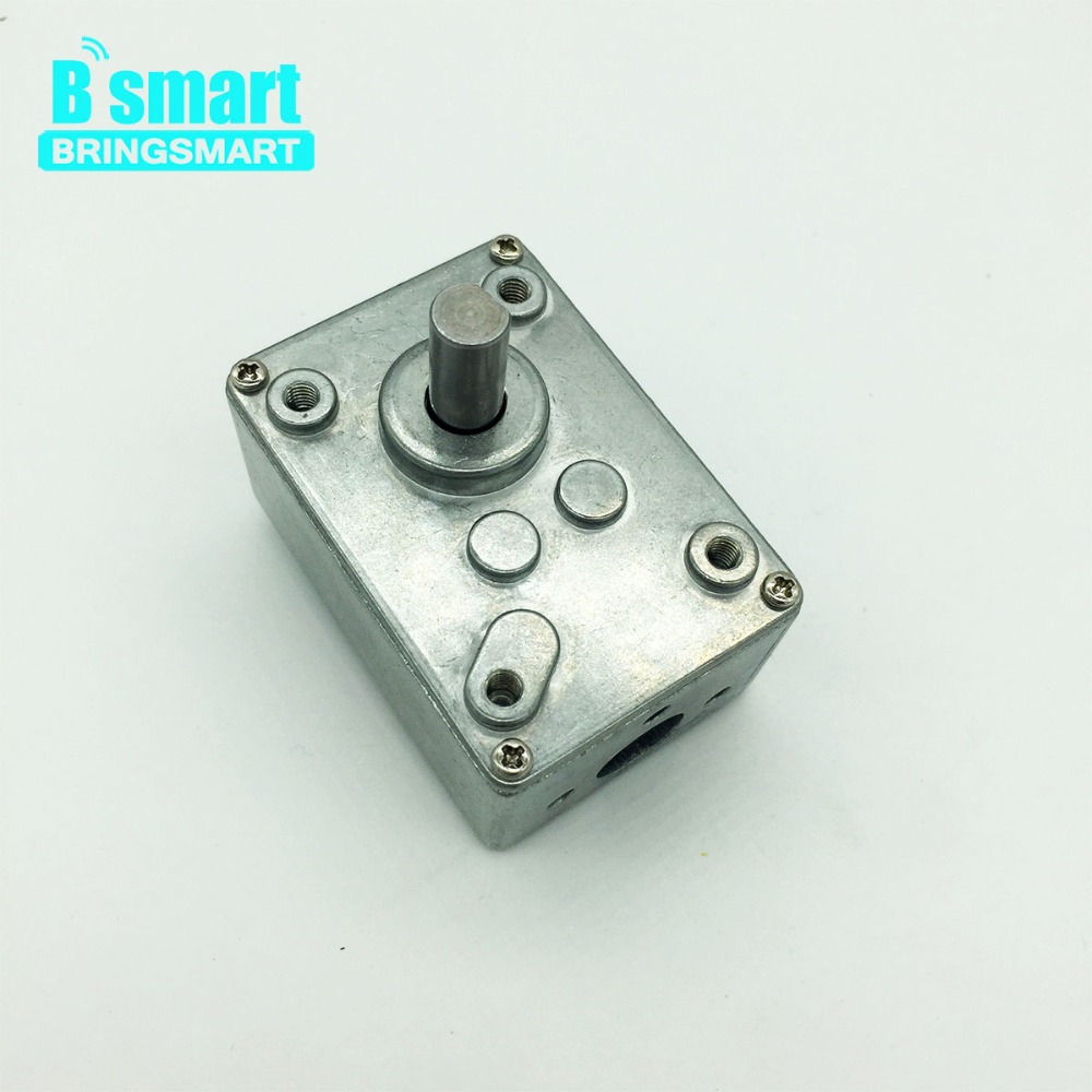 Bringsmart A5840 Worm Gearbox Motor Use for A58SW31ZY Mini DC Worm Gear Motor Reduction Box Micro DC Motor Reducer Case