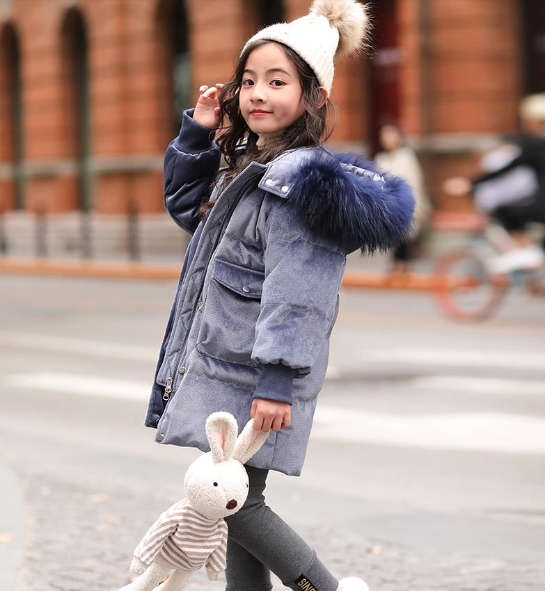 Girls fashion 96% down jacketGirls fashion 96% down jacket