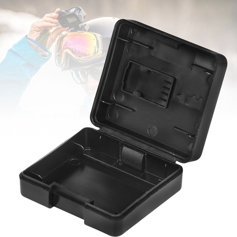 2PCS For Battery Black Holder Sports Cameras Protective Container Accessories Storage Box Water Resistant Organizer For DJI OSMO Lahore