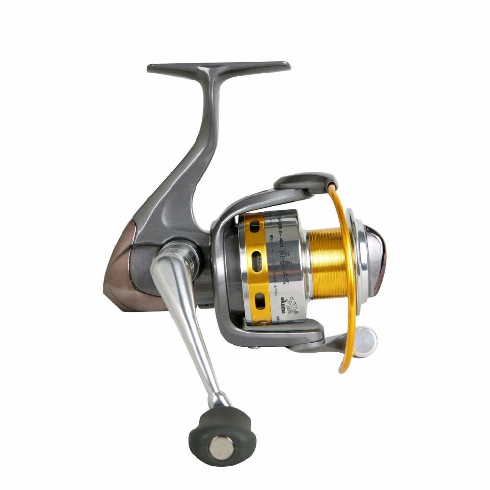 Fishing tackle okuma - chiefii ii chfii08-15 reel metal spinning wheel fish reel okuma 5000 series fishing reel 8 shaft metal spinning wheel fishing tackle