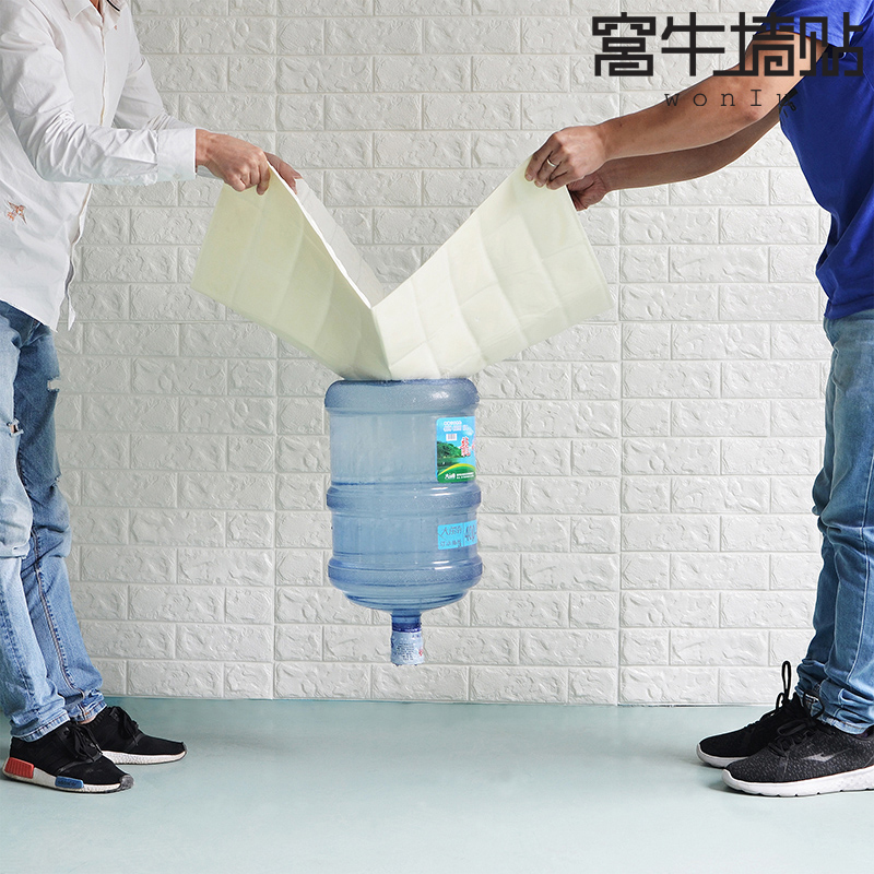 70x77 см 3D каменных PE Пенообои Плакаты стены безопасности наклейки Настенный декор Гостиная Кухня Домохозяйство украшения