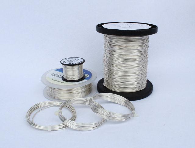 99.99% عالية النقاء الفضة Ag سلك 0.3 مللي متر 2 مللي متر كامل الحجم المدى