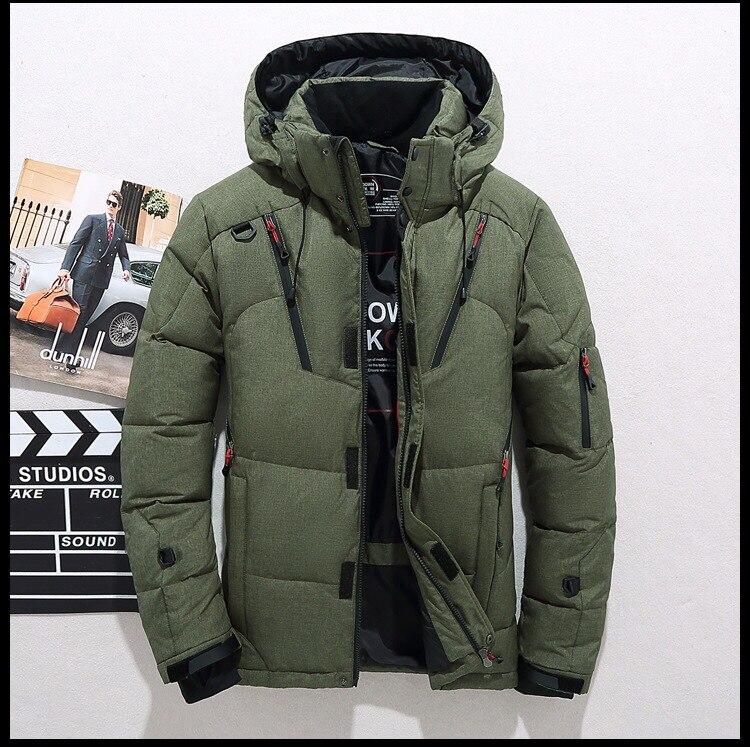 capuz mens jaquetas e casacos de Inverno