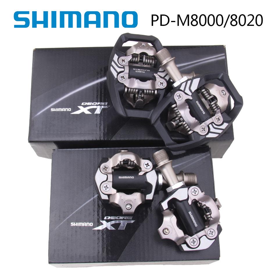 цена Shimano 2016 NEW XT PD M8000 M8020 Self-Locking SPD Pedals MTB Components Using for Bicycle Racing Mountain Bike Parts онлайн в 2017 году