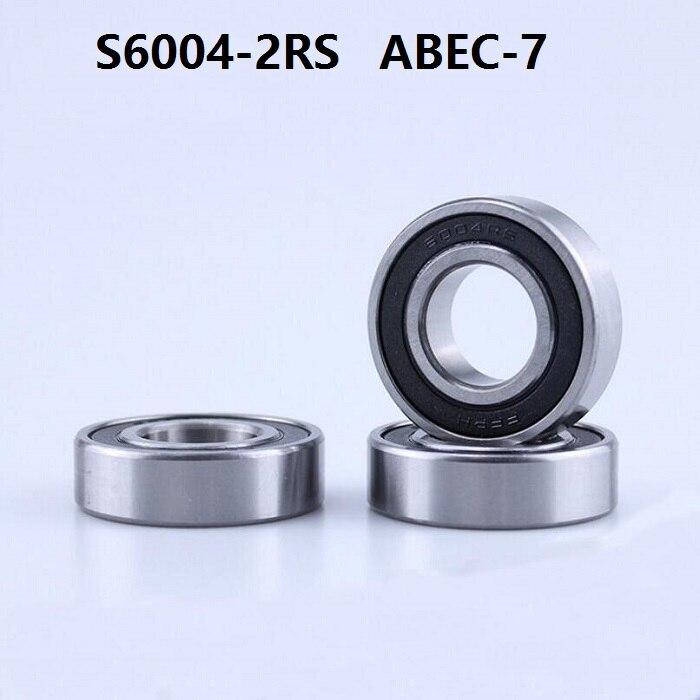 6202-2RS HYBRID CERAMIC Si3N4 Ball Bearing 15x35x11 mm QTY 5 6202RS Black