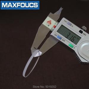 Image 2 - Platte 3.0 Mm Horloge Glas Sapphire Vervanging Dikke In Diameters 30 Mm 39.5 Mm Ronde Transparante 1 Stuks