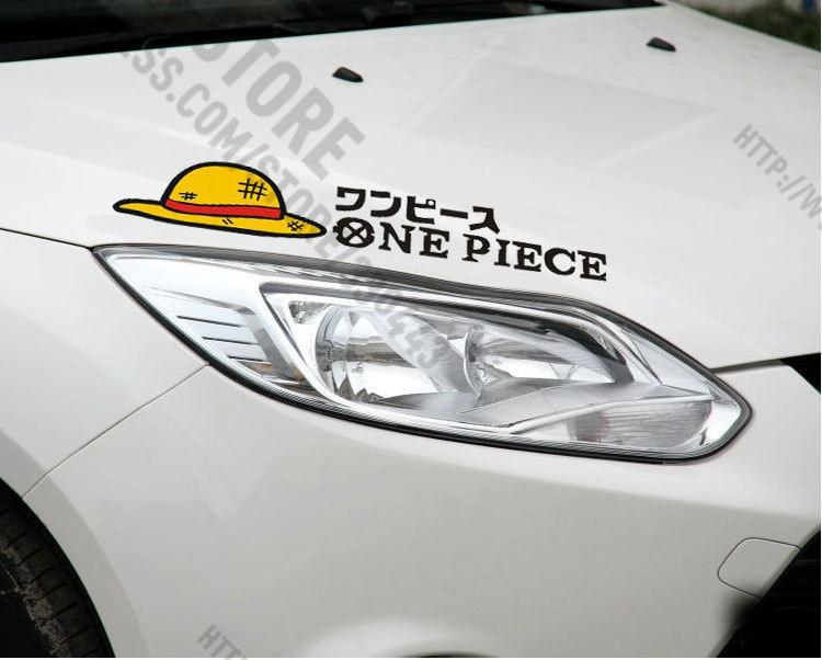 1 Pair One Piece Car Stickers Car Head Decoration Accessories Stickers For Golf MK7 Mazda CX 5 Jetta MK6