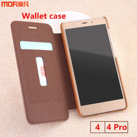 Xiaomi Redmi 4 Pro Case Cover Prime 16G Wallet Pouch Card Cover Flip Case MOFi Original