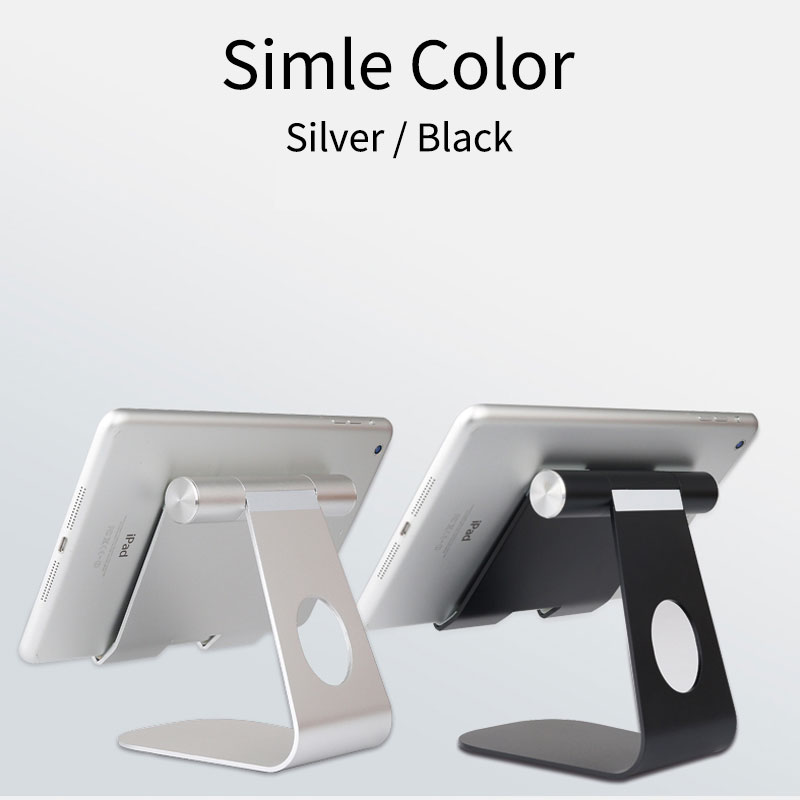 Universal Aluminum Tablet Stand for Apple iPad bracket Senior Metal Support for iphone x/8 mipad samsung Galaxy tab stand holder