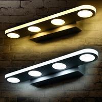 Modern Bathroom LED Mirror Light Desk Dresser Bedside Lamp Sconce Wall Lamps lampada Led Cabinet Mirror Front Lamps Z30