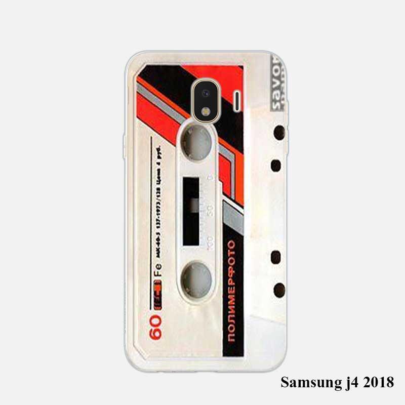 transparent soft silicone phone cases classical old cassette for samsung galaxy j8 j7 j6 j5 j4. Black Bedroom Furniture Sets. Home Design Ideas