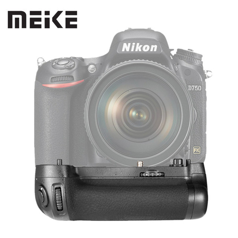 MEIKE MK-D750 Battery Grip Pack Replacement MB-D16 as EN-EL15 Battery for Nikon D750 DSLR Camera meike d750 mk d750 battery grip pack as mb d16 for nikon d750 2 en el15 battery dual charger